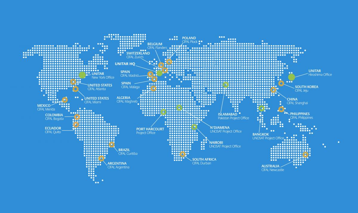 UNITAR World Map