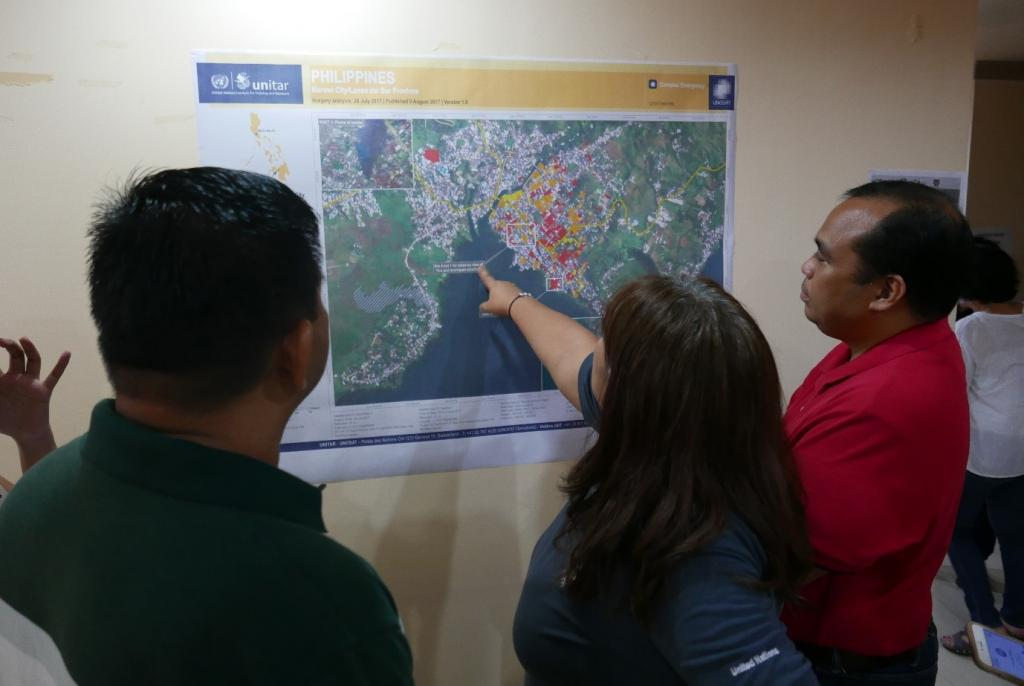 Mapping Damage And Preparing For Reconstruction After The Marawi - Events in us during reconstruction map