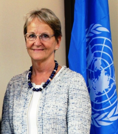 Sally Fegan-Wyles, UNITAR Executive Director