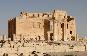 Temple of Bel, Palmyra, Syria, source: wikicommons